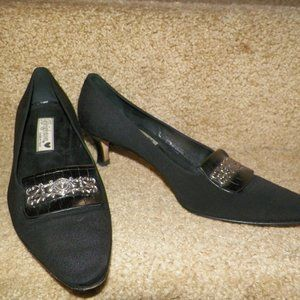 BRIGHTON Kitten Heel Pumps Sz 8.5 M